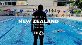 Triathlon New Zealand in Banyoles